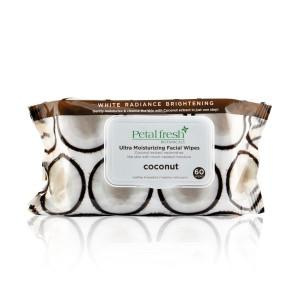 PETAL FRESH ORGANICS Coconut Ultra Moisturizing Facial Cleansing Wipes