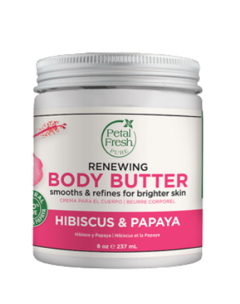 PETAL FRESH ORGANICS Toning Hibiscus & Papaya Body Butter