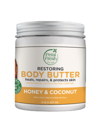 PETAL FRESH ORGANICS Restoring Honey & Coconut Oil Body Butter