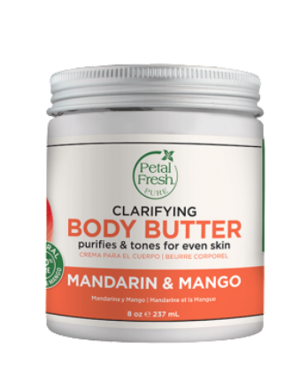 PETAL FRESH ORGANICS Refreshing Mandarin & Mango Body Butter