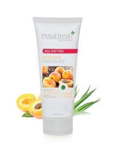 PETAL FRESH ORGANICS Age-Defying Aloe & Apricot Facial Scrub
