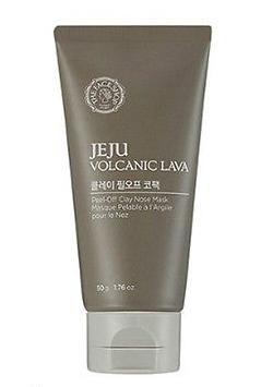 Jeju Volcanic Lava Peel Off Clay Nose Mask