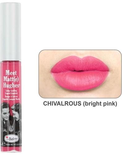 The Balm Meet Matt(e) Hughes Long-Lasting Liquid Lipstick