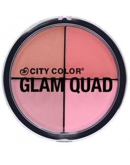 City Color Glam Quad