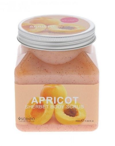 Beaute Recipe Apricot Sherbet Body Scrub