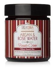 Shea Terra Organics Moroccan Rose Water Shea Butter Hand Cre'me