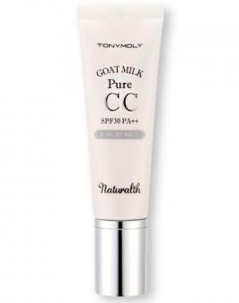 Tony Moly Naturalth Goat Milk Pure CC SPF30 PA
