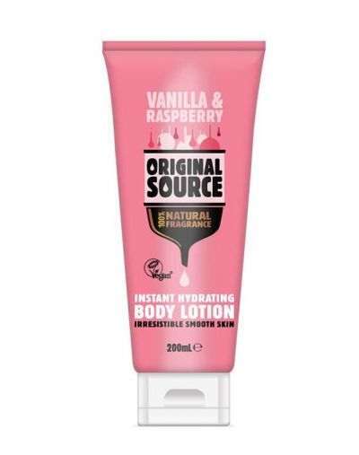 Original Source Vanilla & Raspberry Body Lotion