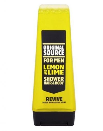 Lemon & Lime Shower Gel for Men