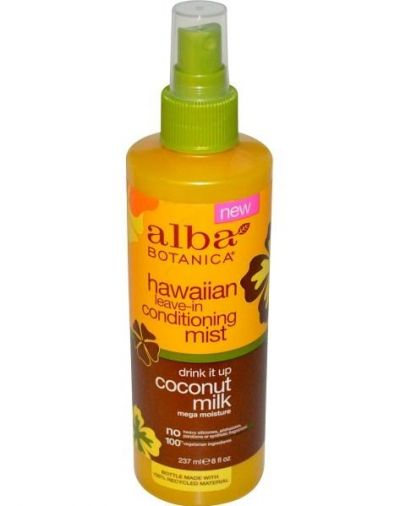 Alba Botanica Hawaiian Leave-In Conditioning Mist Drink It Up Coconut Milk