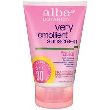 Alba Botanica Very Emollient Sunscreen Facial Lotion SPF 30