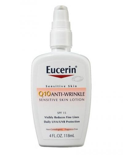 Q10 Anti-Wrinkle Face Lotion with SPF 15 Sunscreen