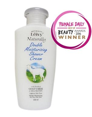 Leivy Double Moisturising Shower Cream