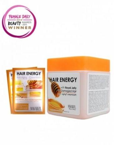 Makarizo Hair Energy Anti-Aging Creambath