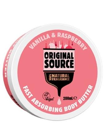 Vanilla & Raspberry Body Butter