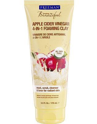 FREEMAN Feeling Beautiful 4-in-1 Apple Cider Vinegar Foaming Clay Mask