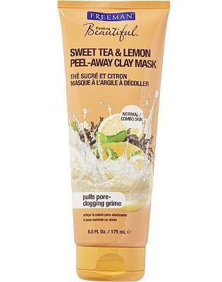 FREEMAN Feeling Beautiful Sweet Tea & Lemon Peel-Away Clay Mask