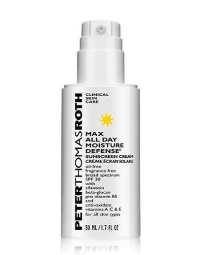 Peter Thomas Roth Max All Day Moisture Defense Sunscreen Cream SPF 30