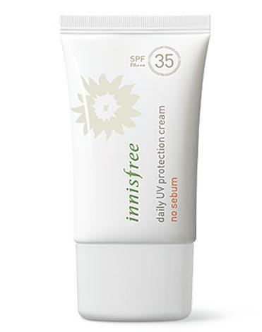 Daily UV Protection Cream No Sebum SPF 35
