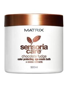 MATRIX SENSORIA CARE Chocolate Fudge Color Protecting Spa Cream Bath