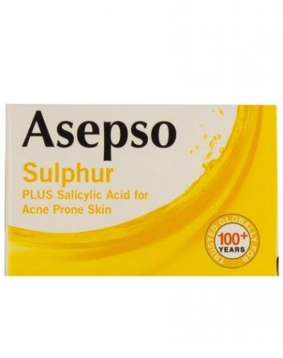 Asepso Sulphur PLUS Salicylic Acid Soap