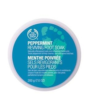 The Body Shop Peppermint Reviving Foot Soak
