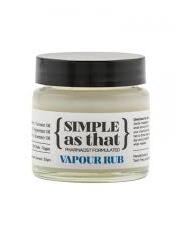 Simple as that Vapour Rub