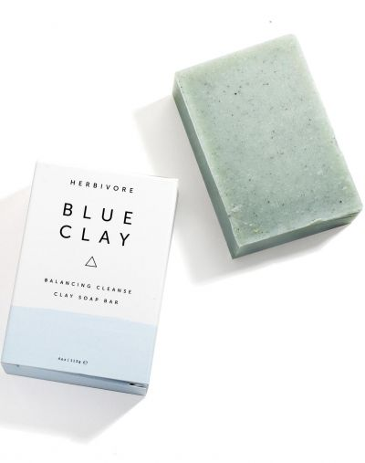 Herbivore Botanicals Blue Clay Cleansing Bar Soap