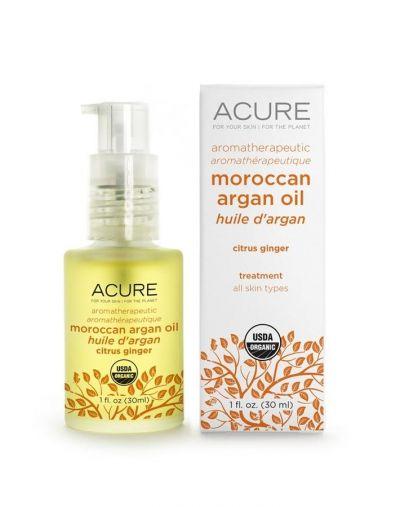 Acure Aromatherapeutic Citrus Ginger Argan Oil