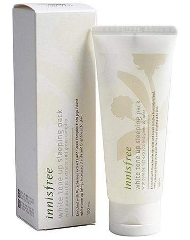 Innisfree White tone up sleeping pack
