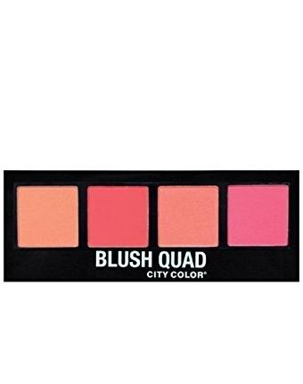 City Color Intense Blush Quad
