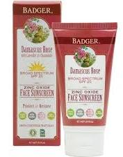 SPF25 Rose Face Sunscreen