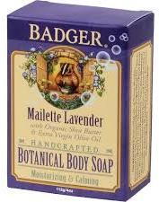 Badger Maillette Lavender Soap
