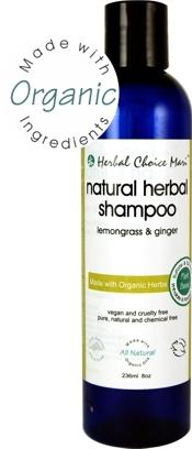 Herbal Choice Mari Natural Shampoo Lemongrass & Ginger