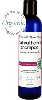 Herbal Choice Mari Natural Shampoo Rosemary & Chamomile