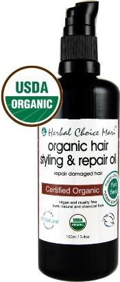 Herbal Choice Mari Organic Hair Styling & Repair Oil