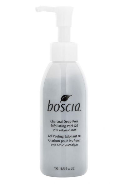 Boscia Charcoal Deep-Pore Exfoliating Peel Gel with volcanic sand