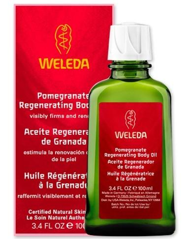 Weleda Pomegranate Regenerating Body Oil