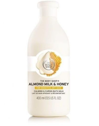The Body Shop Almond Milk & Honey Calming & Caring Bath Milk