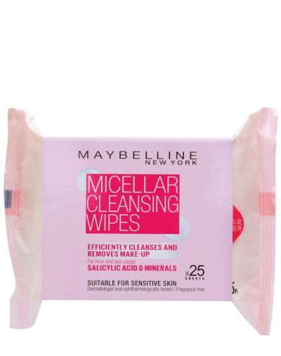 Maybelline Micellar Cleansing Wipes