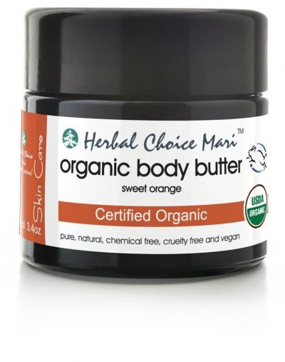 Herbal Choice Mari Organic Body Butter Sweet Orange