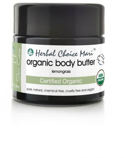 Herbal Choice Mari Organic Body Butter Lemongrass