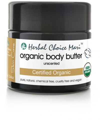 Herbal Choice Mari Organic Body Butter Unscented