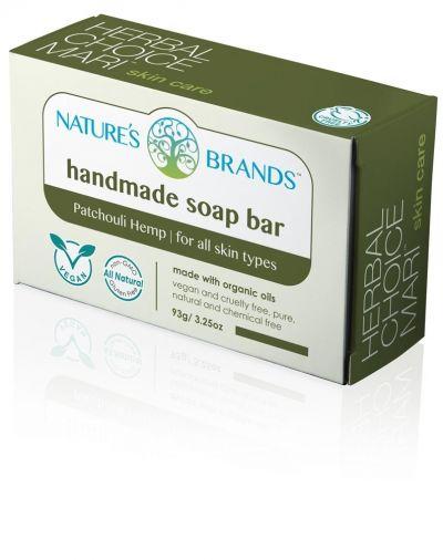 Herbal Choice Mari Handmade Soap Bar Patchouli Hemp
