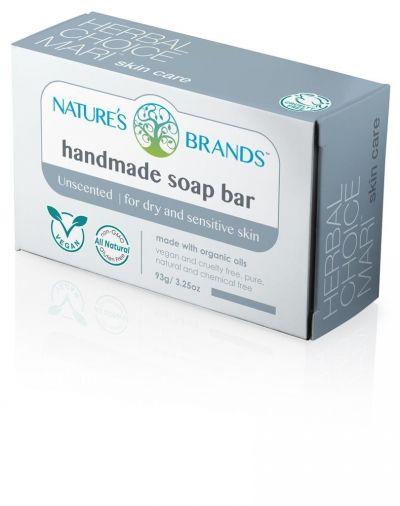 Herbal Choice Mari Handmade Soap Bar Unscented