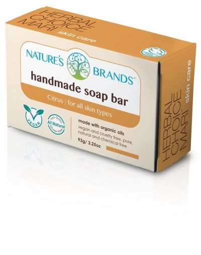 Herbal Choice Mari Handmade Soap Bar Citrus