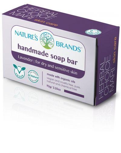 Herbal Choice Mari Handmade Soap Bar Lavender