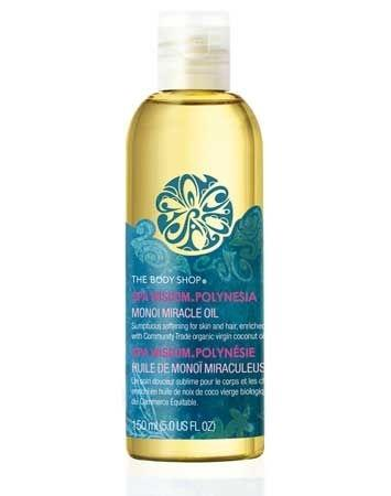 The Body Shop Spa Wisdom Polynesia Monoi Miracle Oil