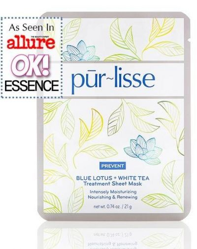 Blue Lotus + White Tea Treatment Sheet Mask