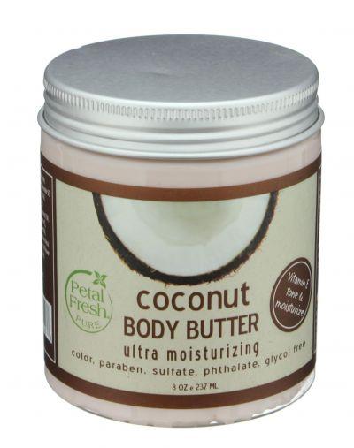 PETAL FRESH ORGANICS Ultra Moisturizing Coconut Body Butter